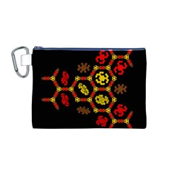 Algorithmic Drawings Canvas Cosmetic Bag (m)