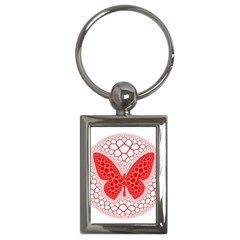 Butterfly Key Chains (rectangle)