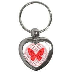Butterfly Key Chains (heart)