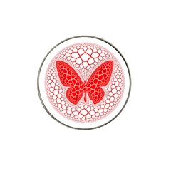 Butterfly Hat Clip Ball Marker (4 Pack)