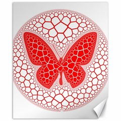 Butterfly Canvas 16  X 20