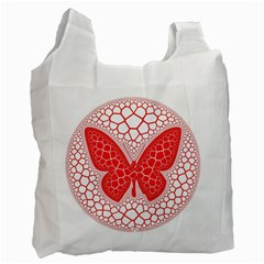 Butterfly Recycle Bag (one Side)