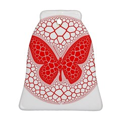 Butterfly Bell Ornament (two Sides)