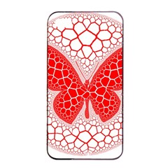 Butterfly Apple Iphone 4/4s Seamless Case (black)