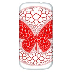 Butterfly Samsung Galaxy S3 S Iii Classic Hardshell Back Case