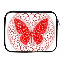 Butterfly Apple Ipad 2/3/4 Zipper Cases