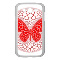 Butterfly Samsung Galaxy Grand Duos I9082 Case (white)