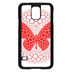 Butterfly Samsung Galaxy S5 Case (black)