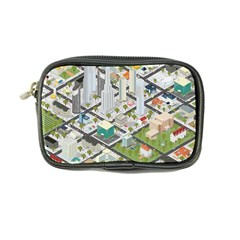 Simple Map Of The City Coin Purse