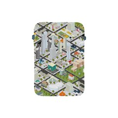 Simple Map Of The City Apple Ipad Mini Protective Soft Cases