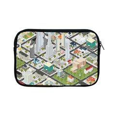 Simple Map Of The City Apple Ipad Mini Zipper Cases