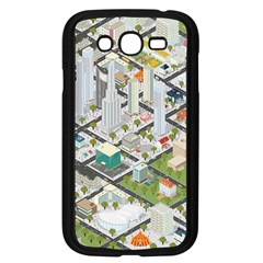 Simple Map Of The City Samsung Galaxy Grand Duos I9082 Case (black)