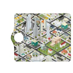 Simple Map Of The City Kindle Fire Hdx 8 9  Flip 360 Case
