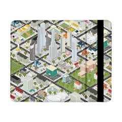 Simple Map Of The City Samsung Galaxy Tab Pro 8 4  Flip Case
