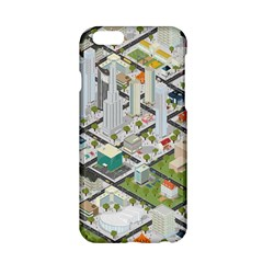 Simple Map Of The City Apple Iphone 6/6s Hardshell Case