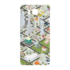 Simple Map Of The City Samsung Galaxy Alpha Hardshell Back Case