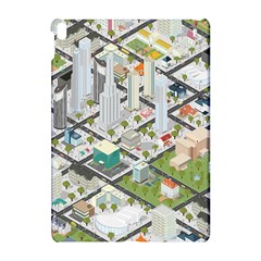 Simple Map Of The City Apple Ipad Pro 10 5   Hardshell Case