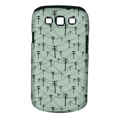 Telephone Lines Repeating Pattern Samsung Galaxy S Iii Classic Hardshell Case (pc+silicone)
