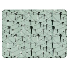 Telephone Lines Repeating Pattern Samsung Galaxy Tab 7  P1000 Flip Case