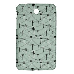 Telephone Lines Repeating Pattern Samsung Galaxy Tab 3 (7 ) P3200 Hardshell Case