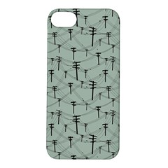 Telephone Lines Repeating Pattern Apple Iphone 5s/ Se Hardshell Case