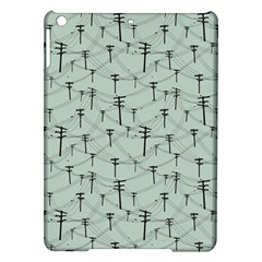Telephone Lines Repeating Pattern Ipad Air Hardshell Cases