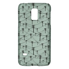 Telephone Lines Repeating Pattern Galaxy S5 Mini