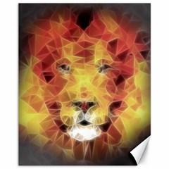 Fractal Lion Canvas 11  X 14