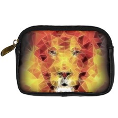 Fractal Lion Digital Camera Cases
