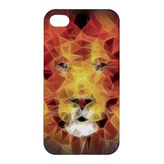 Fractal Lion Apple Iphone 4/4s Hardshell Case