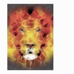 Fractal Lion Small Garden Flag (two Sides)