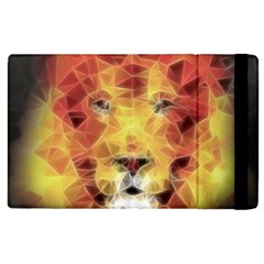 Fractal Lion Apple Ipad 2 Flip Case