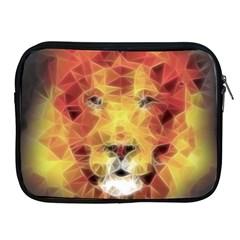 Fractal Lion Apple Ipad 2/3/4 Zipper Cases