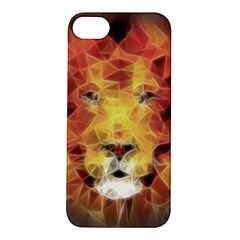 Fractal Lion Apple Iphone 5s/ Se Hardshell Case