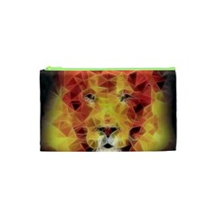 Fractal Lion Cosmetic Bag (xs)