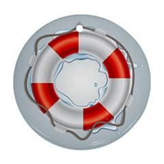 Spare Tire Icon Vector Ornament (round)