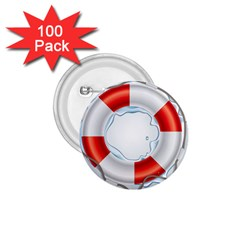 Spare Tire Icon Vector 1 75  Buttons (100 Pack)