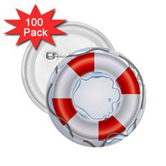 Spare Tire Icon Vector 2 25  Buttons (100 Pack)