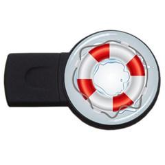 Spare Tire Icon Vector Usb Flash Drive Round (2 Gb)