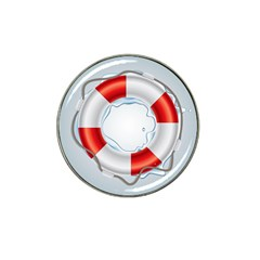Spare Tire Icon Vector Hat Clip Ball Marker (10 Pack)