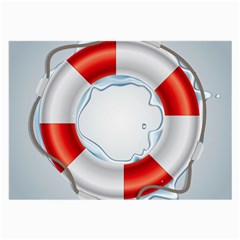 Spare Tire Icon Vector Large Glasses Cloth (2 Side)