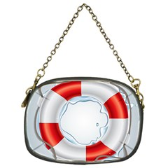Spare Tire Icon Vector Chain Purses (one Side)