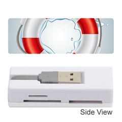 Spare Tire Icon Vector Memory Card Reader (stick)