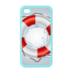 Spare Tire Icon Vector Apple Iphone 4 Case (color)