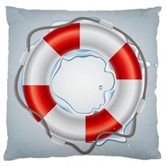 Spare Tire Icon Vector Large Cushion Case (one Side)