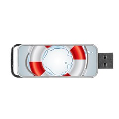Spare Tire Icon Vector Portable Usb Flash (two Sides)
