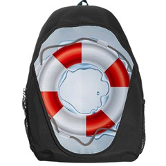 Spare Tire Icon Vector Backpack Bag