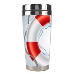 Spare Tire Icon Vector Stainless Steel Travel Tumblers