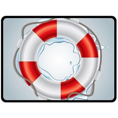 Spare Tire Icon Vector Double Sided Fleece Blanket (large)