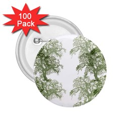 Trees Tile Horizonal 2 25  Buttons (100 Pack)
